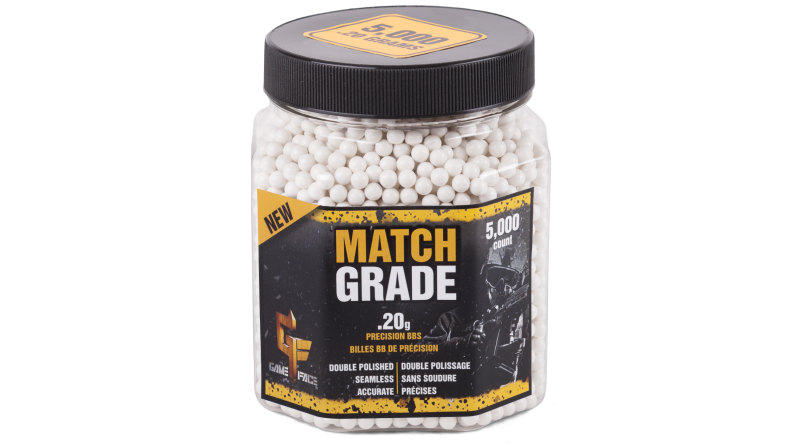 Game Face Match Grade Airsoft Ammo (.20)