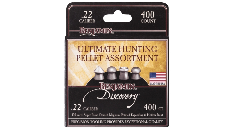 Benjamin Discovery Ultimate Hunting Pellet Assortment (.22)