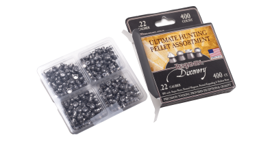 Benjamin Discovery Ultimate Hunting Pellet Assortment (.22) box and pellets