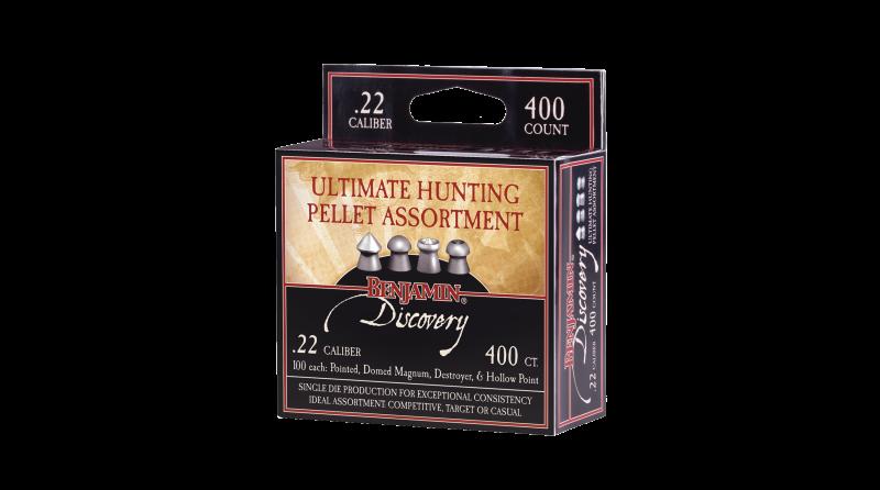 Benjamin®  Discovery™ Ultimate Hunting Pellet Assortment (.22)
