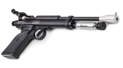 Crosman 2300S (.177) tilted back