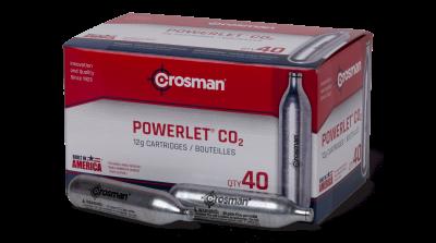 Crosman Powerlet CO2 Cartridges
