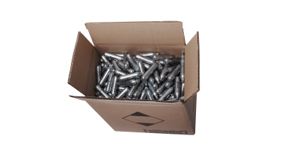 Powerlets CO2 500ct cartridges in box