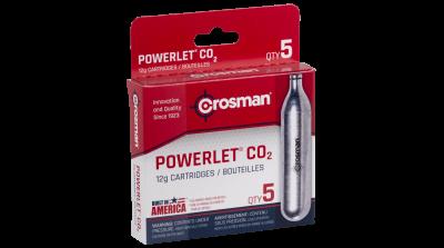 Powerlet® CO2 (5ct) box angled