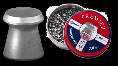 Crosman Wadcutter Pellet (.177) pellet and open tin