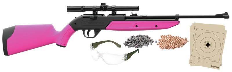 Pumpmaster® Kit 760PKT Solid Pink (.177/BB)