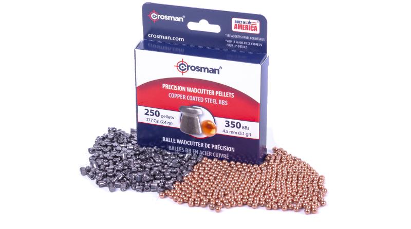 Crosman® Wadcutter Pellet and Copperhead® BB Pack (BB/ .177)