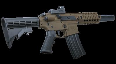 Bushmaster MPW (BB) facing right angled back