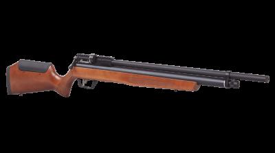 Marauder Wood Stock Air Rifle facing right angled
