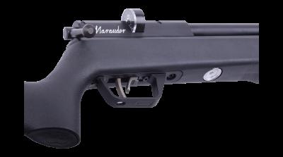 Benjamin Marauder Synthetic (.22 cal) bolt and trigger side view