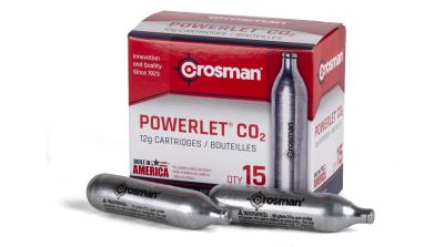 Crosman Powerlet CO2 Cartridges