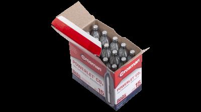 Powerlet® CO2 (15ct) in packaging