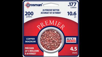 Crosman Copper Magnum Domed Pellet (.177) tin in card