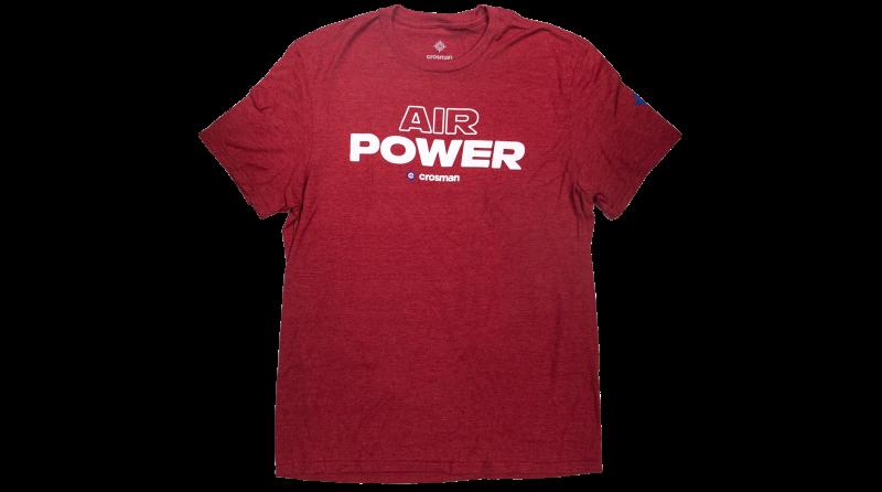 Crosman Logo Tee - Air Power, Short Sleeve