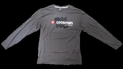 Crosman Logo Tee - Crosman Flag, Long Sleeve