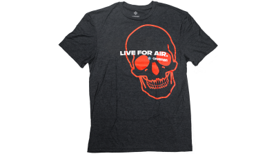 Crosman Logo Tee - Live For Air, Short Sleeve