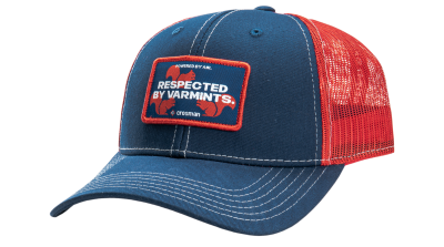 Crosman Trucker Hat - Respected by Varmints