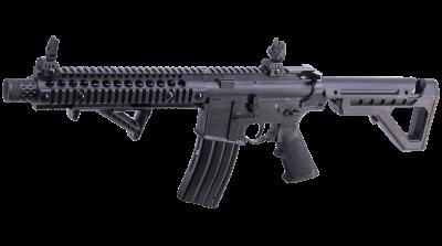 DPMS SBR Full Auto BB Air Rifle left angled forward