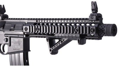 DPMS SBR Full Auto BB Air Rifle barrel