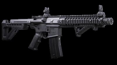 DPMS SBR Full Auto BB Air Rifle right angled forward