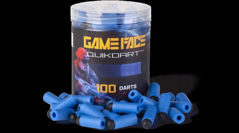 Game Face Quik Darts (Blue)