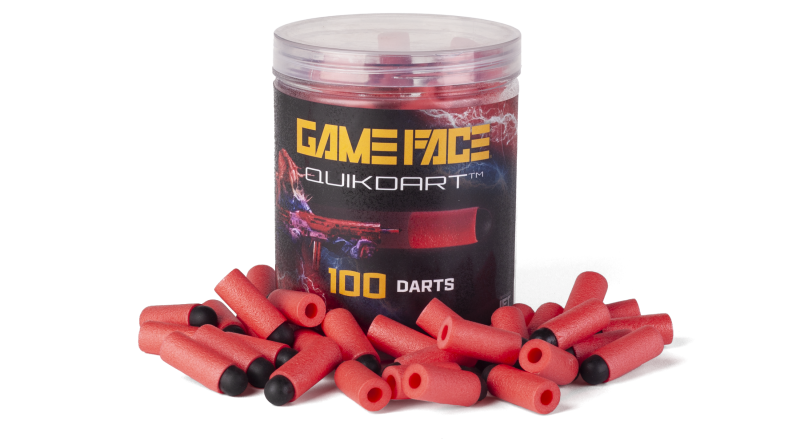 Game Face Quik Darts (Red)