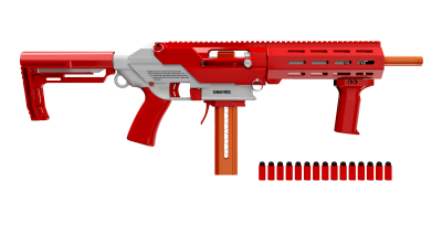 Game Face Prime Blaster (Red) Preview