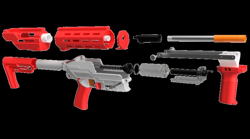 Game Face Prime Blaster (Red)