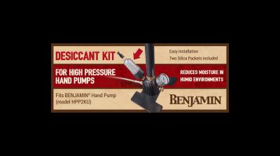 Benjamin Hand Pump Desiccant Kit box