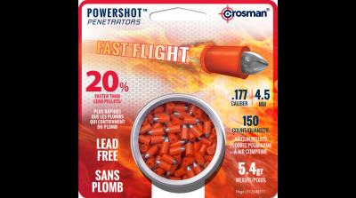 Crosman Fast Flight Penetrator (.177) tin in card