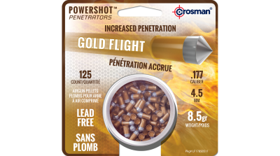 Crosman Gold Flight Penetrator (.177) tin in card