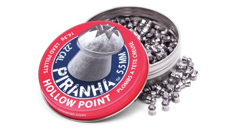 Crosman Piranha Hollow Point Pellet (.22)
