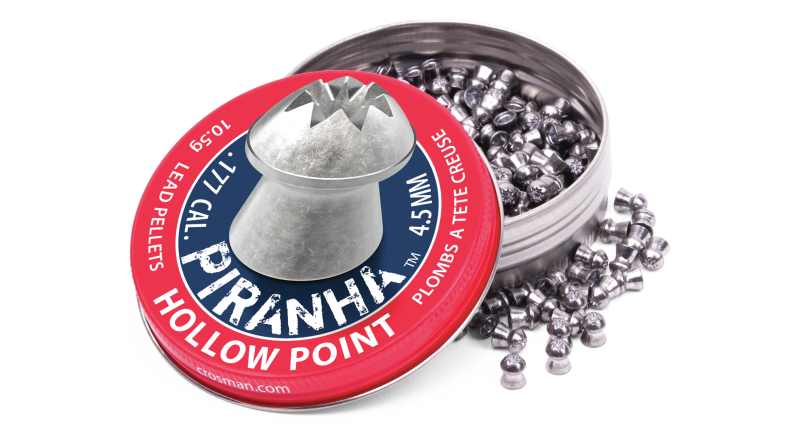 Crosman® Piranha™ Hollow Point Pellet (.177)