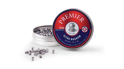 Crosman Super Point Pellet (.177) tin and spilled pellets
