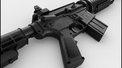 M4-177 Trigger Detail